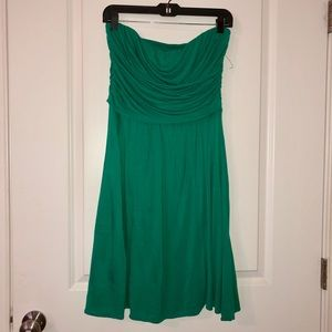 Green knit dress by The Limited